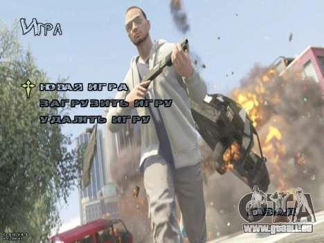 New Menu GTA 5 für GTA San Andreas zweiten Screenshot