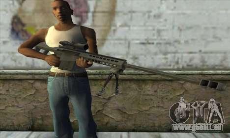 M82A3 für GTA San Andreas dritten Screenshot