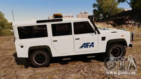Land Rover Defender AFA [ELS] für GTA 4 linke Ansicht