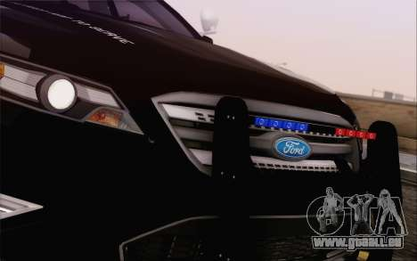 Ford Taurus Police pour GTA San Andreas