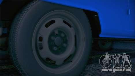 Volkswagen T1 Milicija pour GTA San Andreas vue de droite