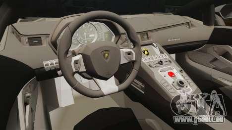 Lamborghini Aventador LP700-4 2012 [EPM] v1.1 pour GTA 4 est une vue de l'intérieur