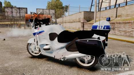 BMW R1150RT Police nationale [ELS] v2.0 für GTA 4 linke Ansicht