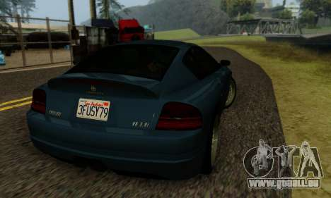 Fusilade GTA V pour GTA San Andreas vue intérieure