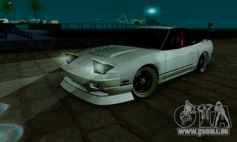 Nissan SX 240 pour GTA San Andreas vue intérieure