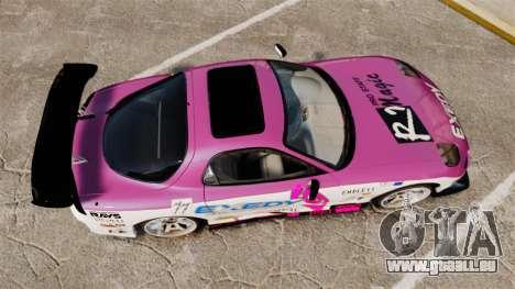 Mazda RX-7 D1 EXEDY pour GTA 4 est un droit