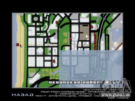 Épave pour GTA San Andreas cinquième écran