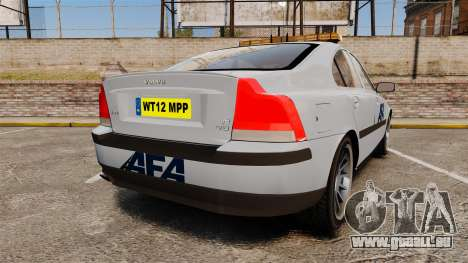 Volvo S60 AFA [ELS] pour GTA 4 Vue arrière de la gauche