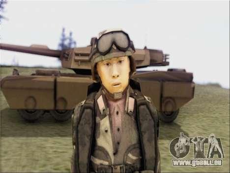 Les soldats De La République populaire De Chine pour GTA San Andreas deuxième écran