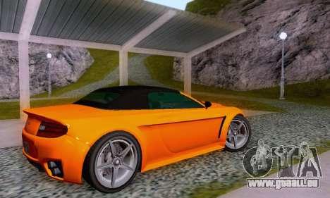 GTA V Rapid GT Cabrio für GTA San Andreas Innen