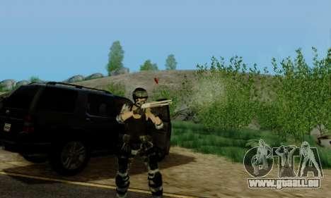SWAT GIRL pour GTA San Andreas cinquième écran