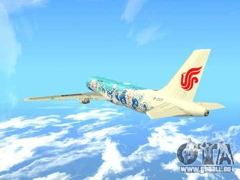 Airbus A320 Air China für GTA San Andreas Seitenansicht