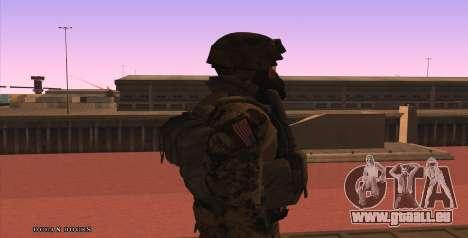 Global Defense Initiative Soldier pour GTA San Andreas cinquième écran