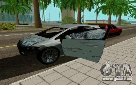 Dinka Blista GTA V für GTA San Andreas rechten Ansicht