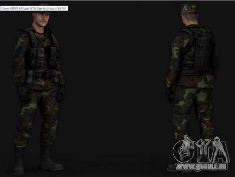 Army HD pour GTA San Andreas quatrième écran