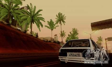 VAZ 2108 RDA pour GTA San Andreas vue de côté