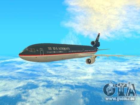 McDonnell Douglas MD-11 US Airways für GTA San Andreas linke Ansicht
