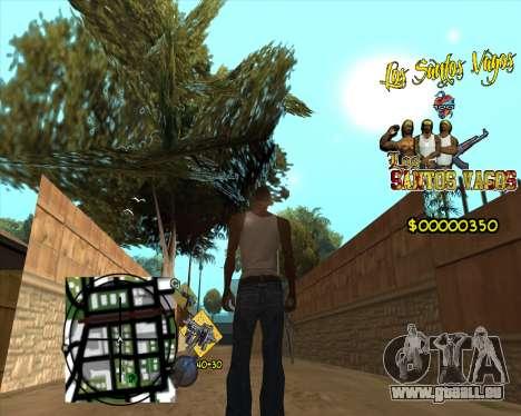 C-HUD LSVG pour GTA San Andreas troisième écran