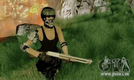 SWAT GIRL pour GTA San Andreas