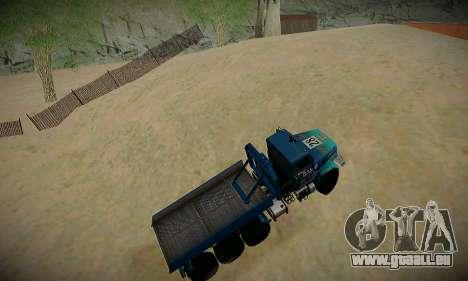 Piste off-road pour GTA San Andreas sixième écran