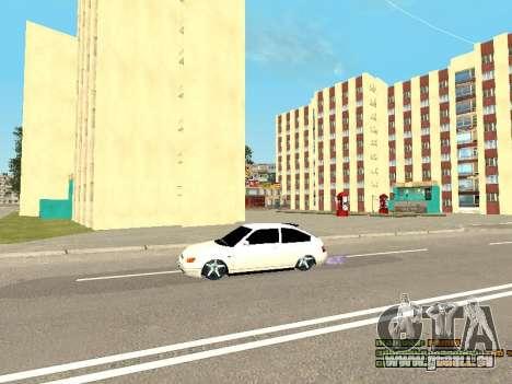 VAZ 21123 für GTA San Andreas Seitenansicht
