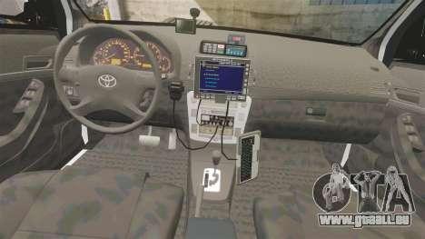Toyota Hilux Police Western Australia pour GTA 4 Vue arrière