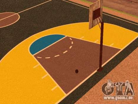 Terrain de basket pour GTA San Andreas sixième écran