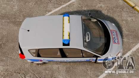 Renault Scenic Police Municipale [ELS] pour GTA 4 est un droit