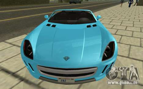Benefactor Surano GTA V pour GTA San Andreas vue de droite