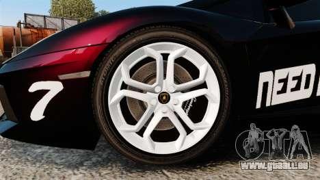 Lamborghini Aventador LP700-4 2012 [EPM] NFS für GTA 4 Rückansicht