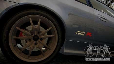 Honda Mugen Integra Type-R 2002 pour GTA 4 Vue arrière