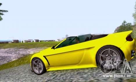 GTA V Rapid GT Cabrio für GTA San Andreas linke Ansicht