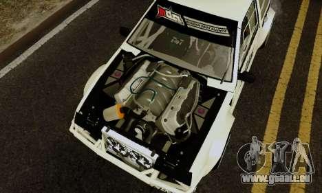 VAZ 2108 RDA pour GTA San Andreas vue arrière