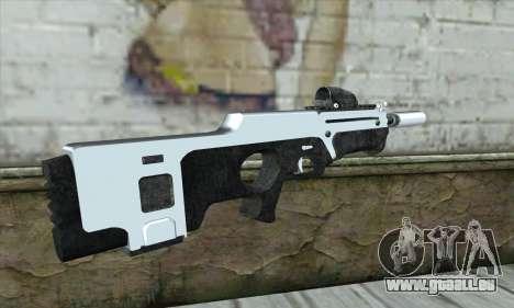 F6 Assault Rifle für GTA San Andreas zweiten Screenshot