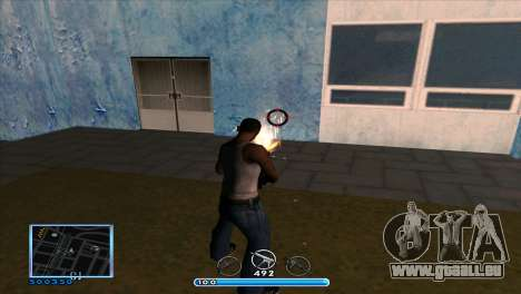C-HUD by Andr1k pour GTA San Andreas troisième écran