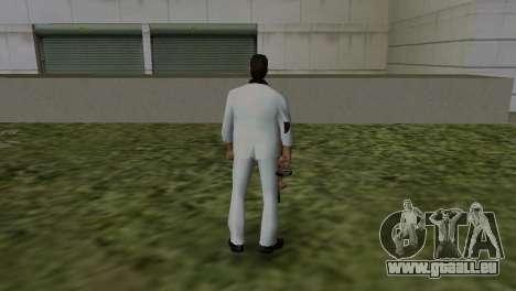 Le Costume Blanc GTA Vice City pour la deuxième capture d'écran