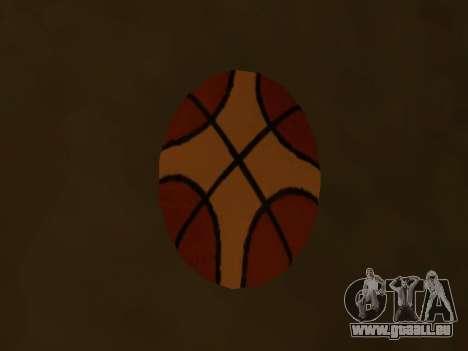 Nouvelles de basket-ball de la société Fondu pour GTA San Andreas