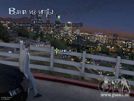 New Menu GTA 5 für GTA San Andreas siebten Screenshot