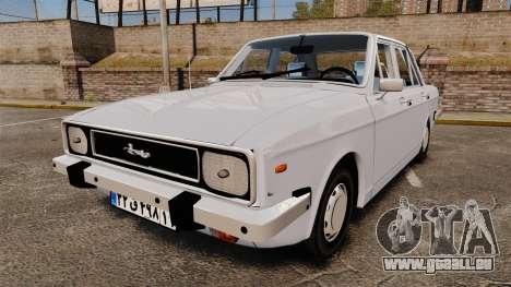 IKCO Paykan 1970 für GTA 4