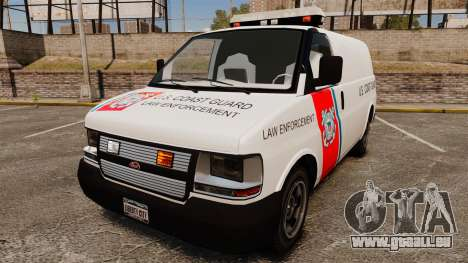 Vapid Speedo U.S. Coast Guard pour GTA 4