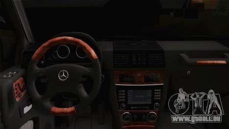 Mercedes-Benz G63 AMG 6X6 für GTA San Andreas rechten Ansicht