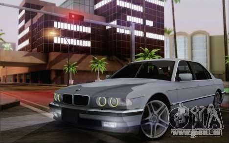 BMW 730d pour GTA San Andreas