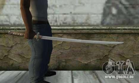 Épée pour GTA San Andreas troisième écran