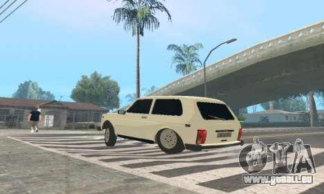 Des VASES de 21214 Avtosh pour GTA San Andreas sur la vue arrière gauche