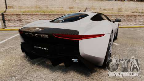 Jaguar C-X75 [EPM] Carbon Series für GTA 4 hinten links Ansicht