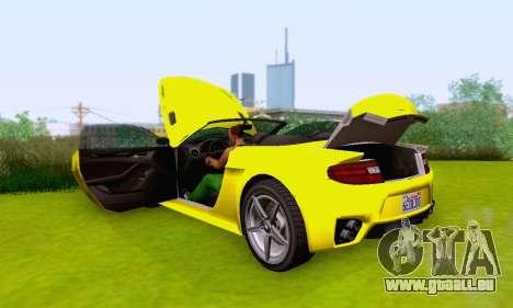 GTA V Rapid GT Cabrio pour GTA San Andreas moteur