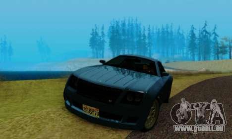 Fusilade GTA V pour GTA San Andreas vue arrière