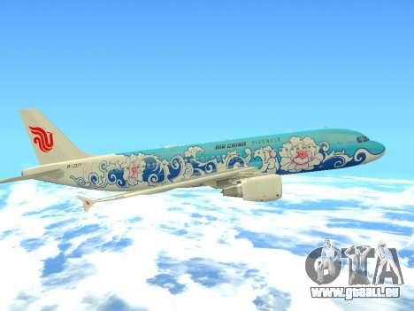 Airbus A320 Air China für GTA San Andreas Unteransicht