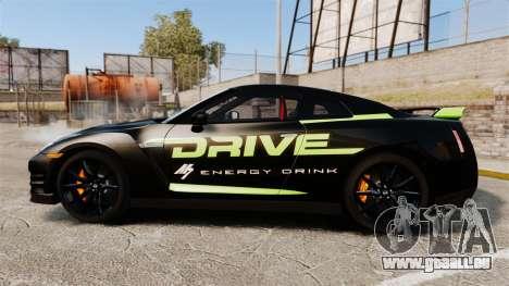 Nissan GT-R Black Edition 2012 Drive für GTA 4 linke Ansicht