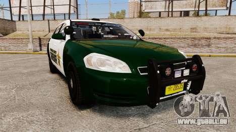 Chevrolet Impala 2010 Broward Sheriff [ELS] pour GTA 4